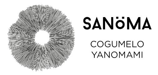 Logo Sanöma - Cogumelo Yanomami